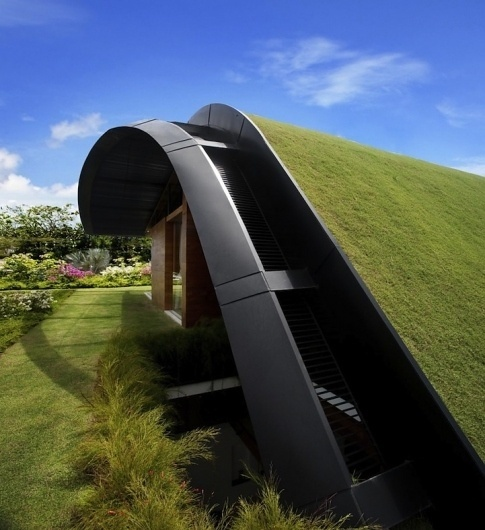 meerahouse4 | Fubiz™ #garden #architecture #house #green
