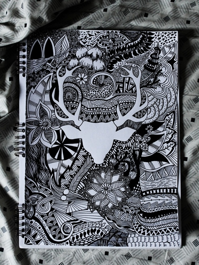 zentangle, trend, design, creative, art, drawing, doodles, illustration,