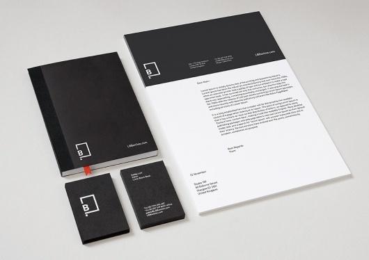 BERG Design for Print, Screen #little #black #book #branding