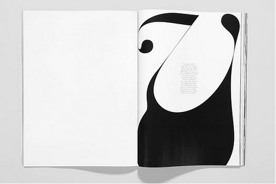 Fabien Baron deliciousness. #white #typography #black #and #contrast