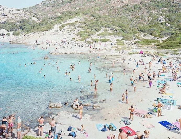 Italian Beach Scenes by Massimo Vitali