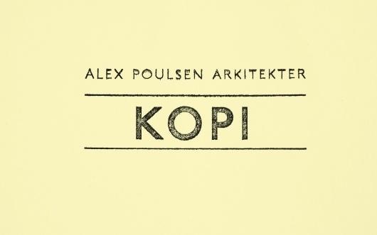 Visuel identitet til Alex Poulsen Arkitekter | re-public #logo #identity