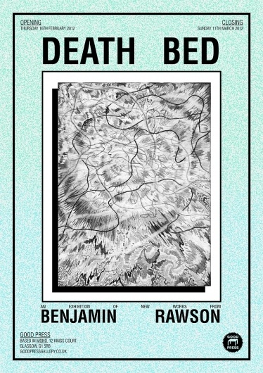All sizes | DEATH BED | Flickr - Photo Sharing! #type #illustration #poster #texture
