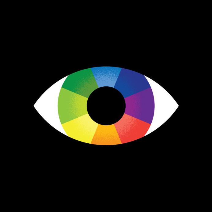 #eye #rainbow
