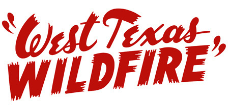 Dan Picasso Logos #lettering #west #texas #brush #wildfire
