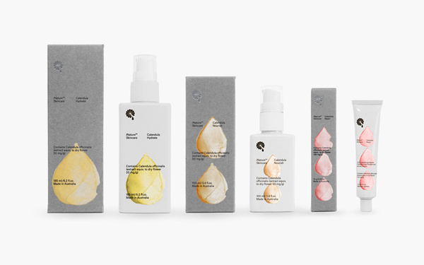 Bedow — Examples of Work — Packaging, iNature Skincare #inature