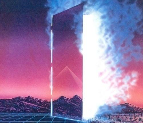 D∴R∴A∴ #mountains #futuristic #illustrations #dimensions