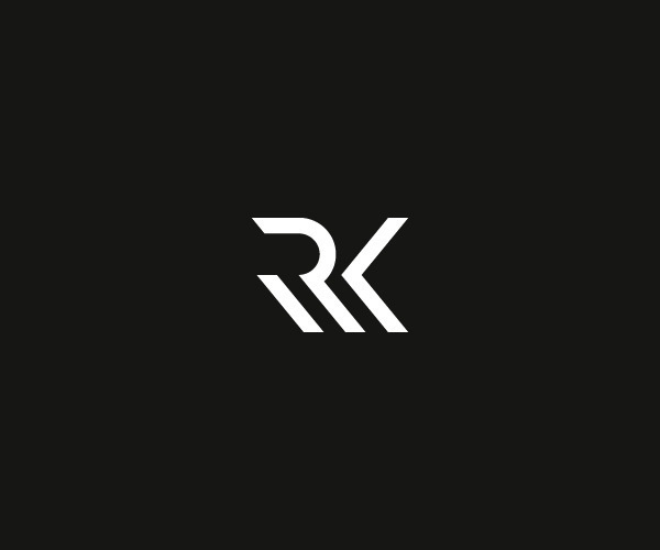 Running with knives on Behance #mark #monogram #identity #symbol #logo