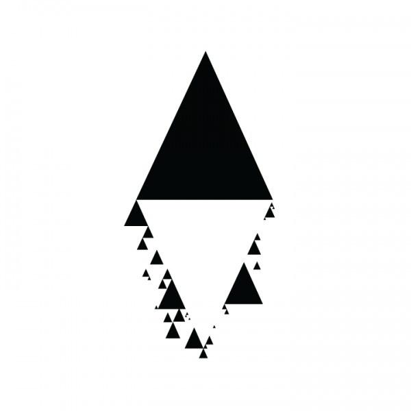 Black Dot Project #sun #project #black #triangles #moon
