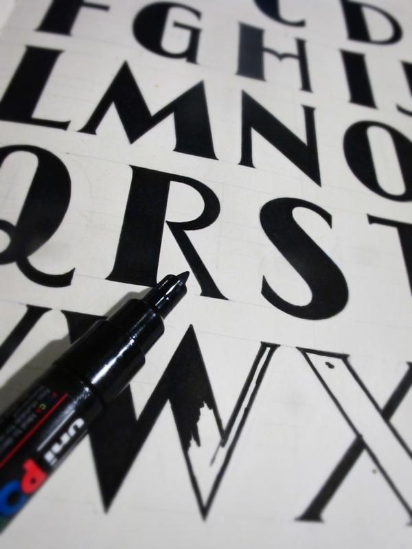 Hand drawn 1 on Behance #type #design #font #lettering