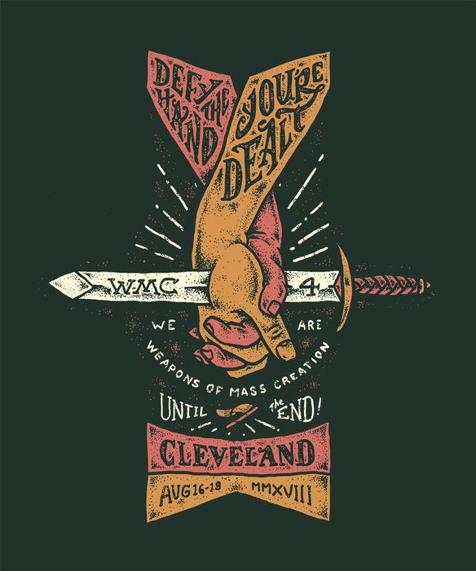 Hands, Hand, Sword, Lettering, illustration
