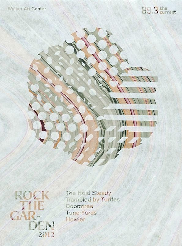 Rockthegarden4 #print #flower #marble #poster #art #music