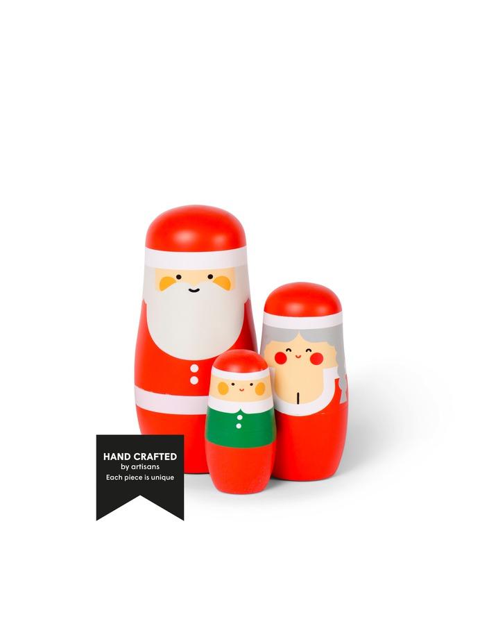 EXPRESSIONS - Christmas edition - Nesting dolls designed by Benjamin Hansen