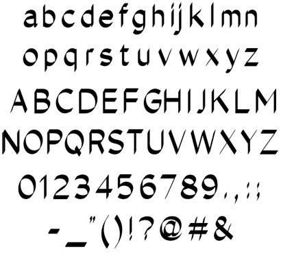 Ohyescoolgreat Type Library #typeface #typography