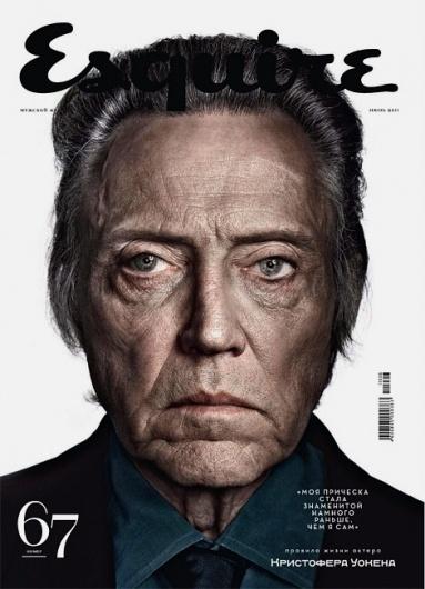 Esquire Russia: Christopher Walken | iainclaridge.net #walken #christopher #magazine