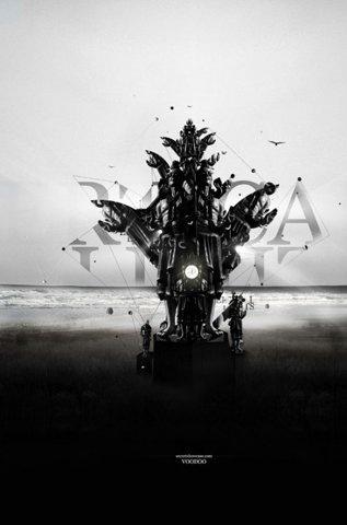 FFFFOUND!   Rik Oostenbroek   Fubiz™ #white #black #rik #artwork #illustration #photoshop #oostenbroek