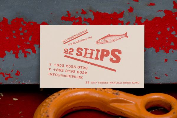 22Ships by Foreign Policy | #identity #restaurant