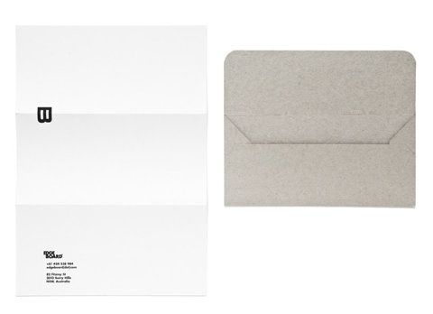 FFFFOUND! #stationary #identity #envelope #layout #letterhead