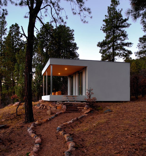 small modern country home