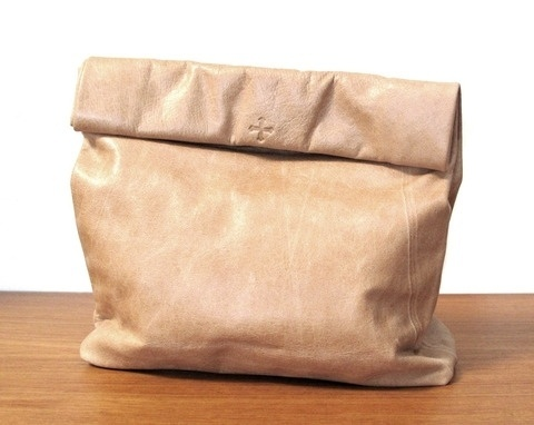Picnic Bag in Tan Leather By Marie Turnor #bag #picnic #marie #turnor