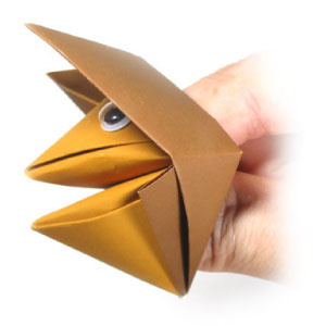 How to make a traditional talking origami fox (http://www.origami-make.org/howto-origami-fox.php)