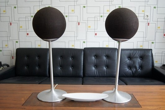 WANKEN - The Blog of Shelby White » Mid-Century German ITT Ball Speakers #ball #design #1960s #mid #century #speakers #german