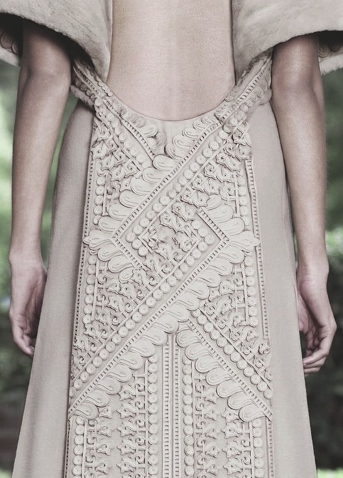 Givenchy FW 2012 Couture #fashion #ornament
