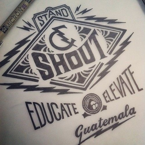 type, typography, lettering