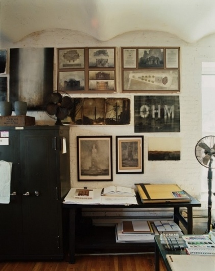 Roman & Williams' office - Creative Journal #interior #design #york #new