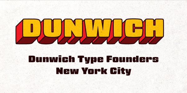 Dunwich Type Founders » Gigalypse #type #specimen