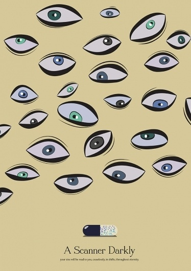 A_scanner_Darkly.jpg.jpeg (707×1000) #movie #vector #eyes #drugs #film #darkly #scanner
