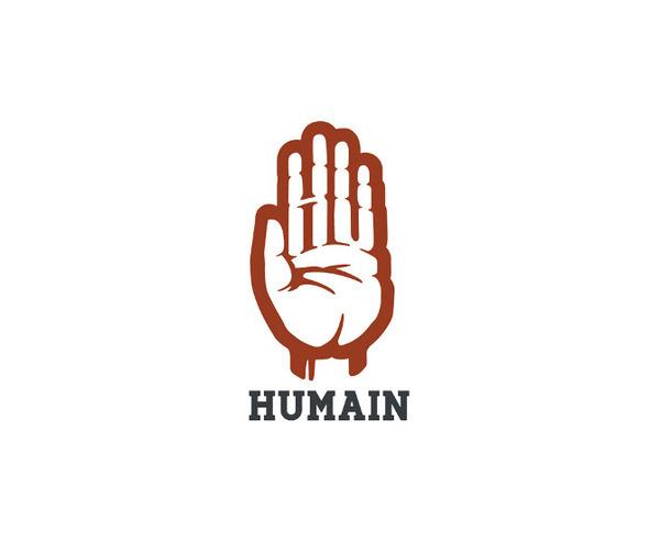Branding Daran Brossard Creative Co. / DBCCo. #negative #logo #hand #space