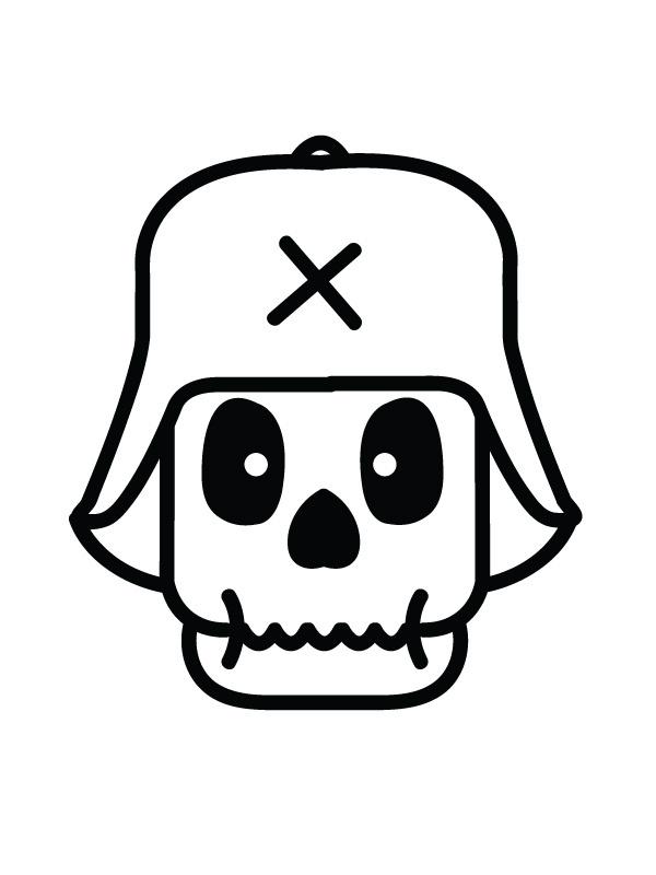 Third Reich Skelety #skull #skeleton #character