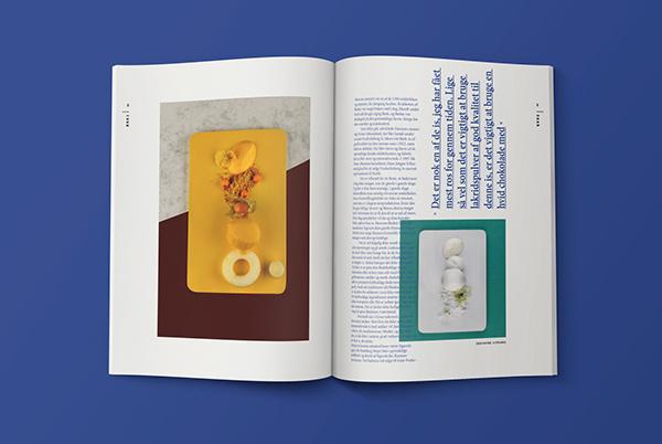 The Birthday on Behance #magazine #spreads #food #photos #ice