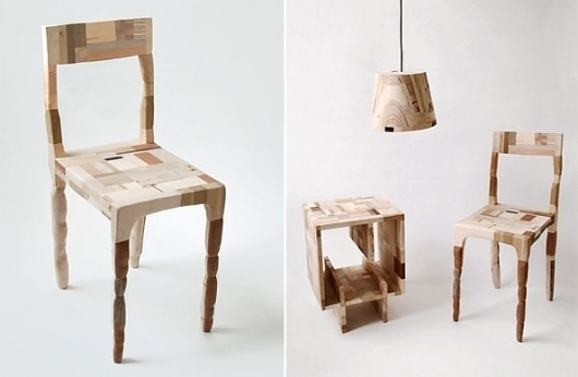 Wooden Patchwork by Amy Hunting « CubeMe #wood #furniture
