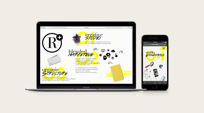 R+ Website Development