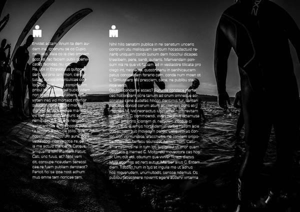 IRONMAN | Sales Deck #deck #sales #design #triathlon #corporate #identity #layout #ironman