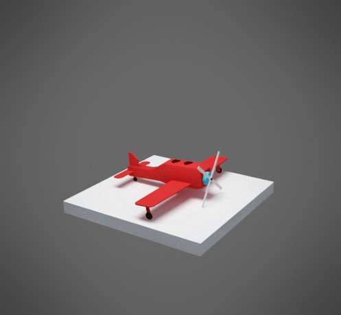 tekom #red #small #beacon #design #lighthouse #plane #web #paper #toy