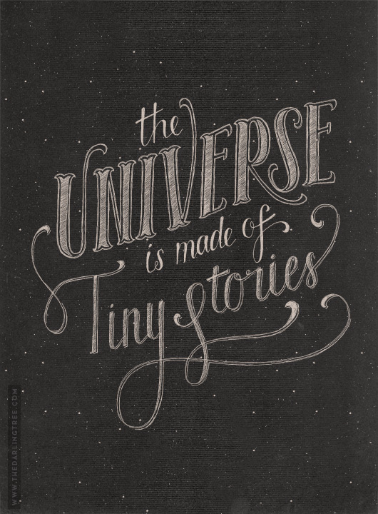 The Universe #typography