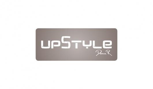 upstyle – dana r // brennpunkt design // mit leidenschaft #logo #logowork #upstyle