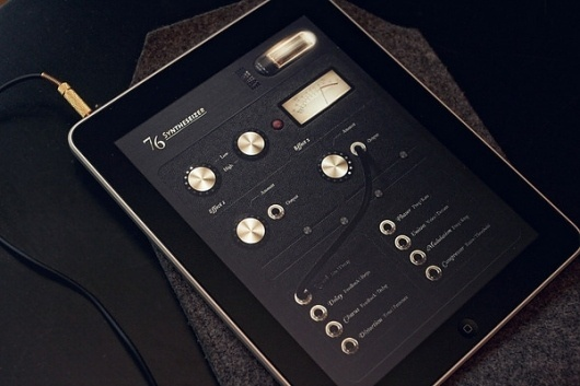 76 Synthesizer iPad App on the Behance Network