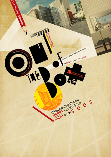 Out of the box on Behance #fonts #design #retro #arabic #culture #vintage #bauhaus #typography