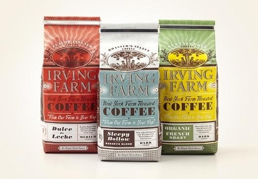 Packaging - Louise Fili Ltd #packaging #type #label #coffee