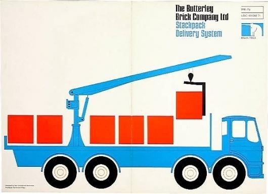 ken garland & associates:graphic design:butterley #cover #illustration #vintage #brochure