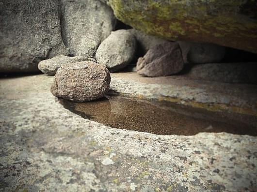 roccia acqua neve #rock #water