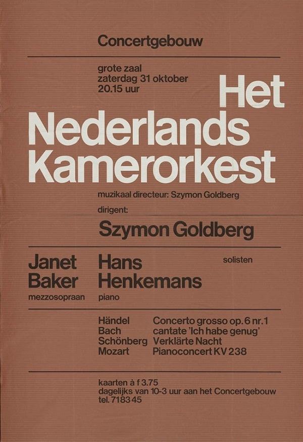 Wim Crouwel Poster #wimcrouwel #helvetica #minimal #poster