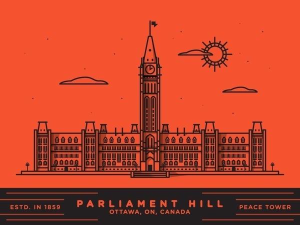 Parliament hill x2 #line
