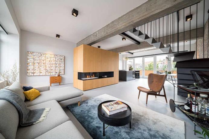 Loft House Rotterdam by EVA Architecten