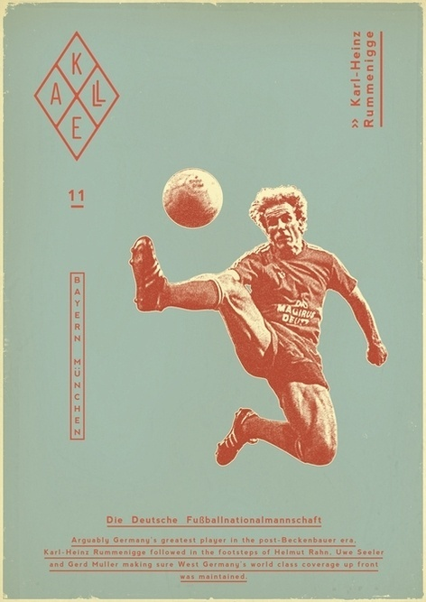 Sucker for Soccer on the Behance Network #dada #soccer #vintage #poster #futbol