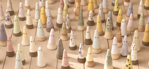 ARHOJ > Ghosts #ghost #design #home #ceramic